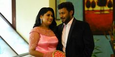 awesome Malayalam Actress Dimple Rose & Anson Francis Engagement Photos