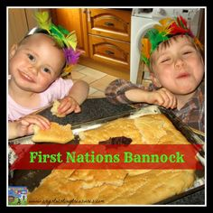 First Nations of Canada/USA traditional bannock recipe. Great tasting flat bread that can be made in the oven or over a campfire.