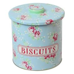 Maison English Rose Biscuit Tin