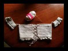 How to crochet Off the shoulder top - ENGLISH version. In this tutorial I will show you the pattern I used to create this off the shoulder top :) Enjoy! The size is smallmedium Crochet Bikini Pattern, Crochet Bikini Top, Crochet Cardigan Pattern, Crochet Shirt, Crochet Diagram, Crochet Patterns, Swimsuit Pattern, Top Tejidos A Crochet, Diy Crochet Top