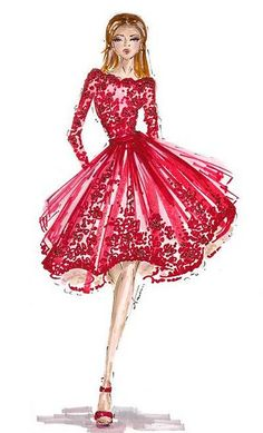 dress colour in valentine day