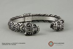 Viking Bracelet With Dragon's Head Scandinavian от PAKABONE