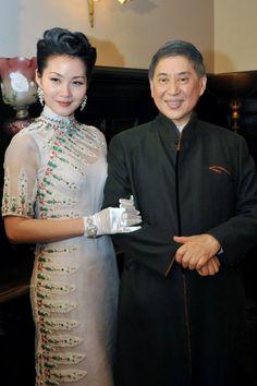 Celebrity Qipaos Cheongsam, Elegant, Victorian, Celebrity, Dresses, Fashion, Classy, Vestidos, Moda