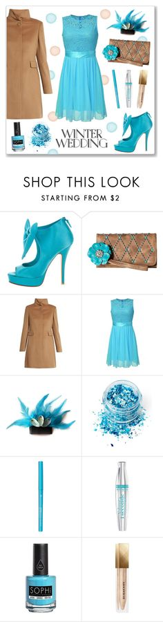 """""""True Romance : Winter Wedding"""" by drinouchou ❤ liked on Polyvore featuring Laurence Dacade, M&F Western, MaxMara, In Your Dreams, Bourjois, Piggy Paint, Burberry and winterwedding"""