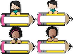 Print and use these name tags Classroom Labels, Classroom Rules, Preschool Classroom, Classroom Decor, Kindergarten Test, First Day Of School, Back To School, School Border, School Frame