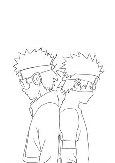 kakashi e obito - zeichnen - kakashi e obito Best Picture For cactus cake For Your Taste You are looking for something, and it - Otaku Anime, Anime Naruto, Naruto Art, Naruto Sketch Drawing, Naruto Drawings, Anime Drawings Sketches, Easy Drawings, Kakashi And Obito, Anime Lineart