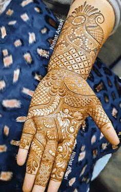 Peacock Mehndi Designs, Khafif Mehndi Design, Latest Bridal Mehndi Designs, Stylish Mehndi Designs, Full Hand Mehndi Designs, Mehndi Designs Book, Mehndi Designs For Beginners, Mehndi Design Photos, Wedding Mehndi Designs