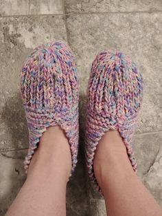 Another satisfied customer in their new comfy slippers. 🥰 Knitted Slippers, Knitted Hats, Knitting Socks, Hand Knitting, Keep Shopping, Photo And Video, Comfy, Events, Colours