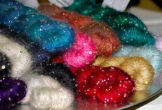 Beaded Mohair & Sequins beautiful colors