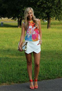 Zara Camisetas, Zara Pantalones cortos and Zara Tacones / Plataformas