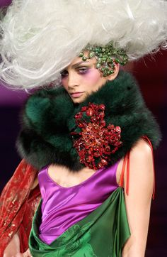 flashback : Christian Lacroix Haute Couture F/W 08 by Mario Sierra
