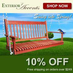 Exterior-Accents.com –  10% Off