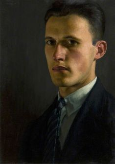 """John Luke - """"Self-Portrait"""" 1928"""
