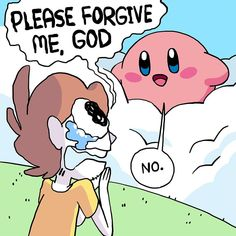 Kirby Memes 727472146047044807 - Source by Owlturd Comics, Funny Comics, Kirby Memes, Videogames, Kirby Character, Pokemon, Otaku, Funny Comic Strips, Meta Knight