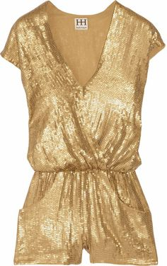 f68c6ff943b2e6 $230 tiawong on Lyst HAUTE HIPPIE Gold Jumpers, Studio 54 Fashion, Fashion  101,