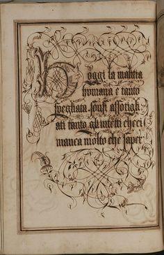 Antonio Schiratti, manuale di calligrafia - calligraphy manual
