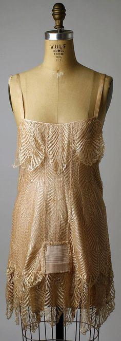 Corset Bienjay, la France, la soie, le caoutchouc, le coton, 1920-25