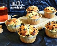Muffins et cupcakes Chef Recipes, Sweet Recipes, Cupcake Recipes, Cupcake Cakes, Mini Cupcakes, Cake Factory, Ice Cream Candy, No Cook Desserts, Chocolate Muffins
