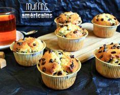 Muffins américains aux pépites de chocolat : Il était une fois la pâtisserie... FAIT : PARFAIT !!!