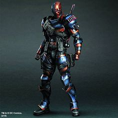 "Square Enix Play Arts Kai Deathstroke ""Arkham Origins"" Action Figure Square Enix"