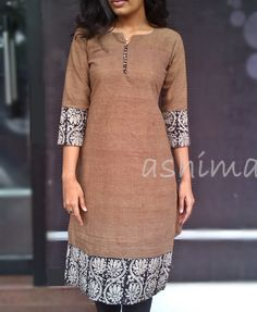 Code:2311150-Khadi Cotton Kurta- Price INR:790/- All sizes available. Free shipping to all courier destinations in India. Online payment through PayUMoney / PayPal