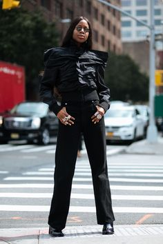 The Best Street Style At New York Fashion Week SS18+#refinery29uk