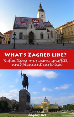 Zagreb didn't get off to a good start. All about Zagreb and why it kind of grows on you...#bbqboy #Zagreb #Croatia #travel