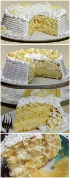 Baby Food Recipes, My Recipes, Cake Recipes, Fancy Cakes, Love Is Sweet, Vanilla Cake, Cupcake Cakes, Bakery, Food And Drink
