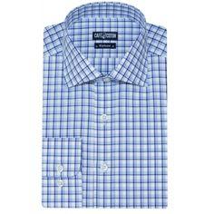 Chemise coupe cintrée à carreaux ciel et marine - Café Coton  chemise   chemisehomme http   www.cafecoton.fr nouveaux-cols 11020-chemise-coupe -cintr… ccba8a3c6d7a