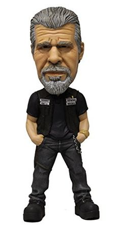 SONS of Anarchy Bobblehead Figure di Clay MEZCO Toyz