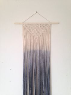 Hey, I found this really awesome Etsy listing at https://www.etsy.com/listing/243494873/macrame-wall-hanging-dip-dyed-ombre-in