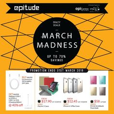EpiCentre March Madness for Epitude Members - Why Not Deals