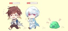 "I find this really funny even though in game I have Mikleo on ""treasurer detection"""
