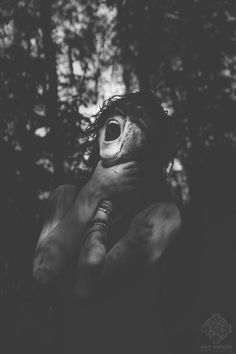 So much i want scream thats burning inside me. This pain that i could tell but nobody would truly understand my demons Scary Photography, White Photography, Unclean Spirits, Creepy, Wow Photo, Le Cri, Arte Obscura, Writing Inspiration, Dark Art
