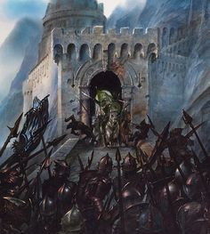HELM'S DEEP BY JOHN HOWE