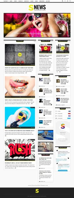 SNEWS is Eye-catching WordPress #Theme for #Magazine, Reviews & #Newspaper website. Download Now!