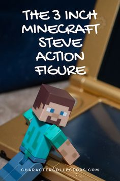The Minecraft 3 inch Steve action figure is fully poseable so he can do just about anything. Including posing for glamour shots. A fun toy for kids to use their imagination. Minecraft Toys For Kids, Steve Minecraft, New Kids Toys, Toys For Boys, Unique Gifts For Kids, Cool Gifts, Top Toys, Children's Toys, Cheap Toys