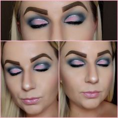 Morphes James Charles palette and their palette. With the razor sharp liner by urban decay in crease. Makeup Looks 2018, Urban Decay, Halloween Face Makeup, Palette, How To Make, Pallet