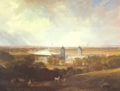 London from Greenwich Park by Joseph Mallord William Turner