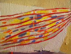 Acrylique et sable sur panneau. Dimension: 50x65 cm www.fondationsolangebertrand.org