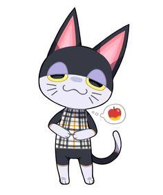 Animal Crossing Fan Art, Animal Crossing Villagers, Animal Crossing Characters, Animal Crossing Memes, Video Game Drawings, Furry Drawing, Comic Games, Game Character, Goblin