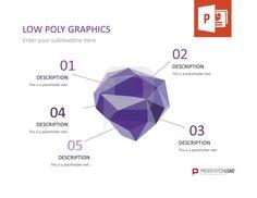 Für unser neues Template haben wir komplexe Polygone verwendet und diese zu wunderschönen Graphiken zusammengestellt. Überraschen Sie Ihr Publikum mit diesem erstklassigem Design. @ http://www.presentationload.de/low-poly-grafiken.html