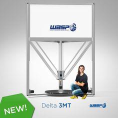 DeltaWASP 3 MT, 3D printer, milling machine