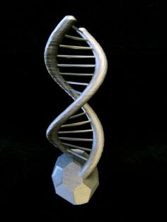 DNA Double Helix Science Gift 3D Printed. $12.00, via Etsy.