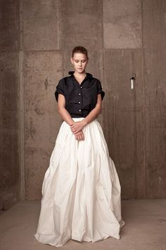 Loving these ball gown skirts...Rosie Assoulin Resort 2014