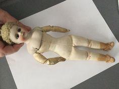 """Antique Bisque Head Doll 10""""   eBay"""