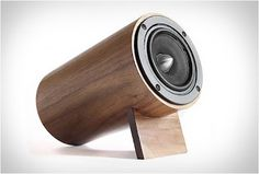 Well Rounded Sound is a boutique company that provides music-lovers with the finest desktop speakers. This brand's premium eco-friendly materials and refined speaker . Art And Technology, Technology Gadgets, Tech Gadgets, Cool Gadgets, Desktop Speakers, Room Speakers, Laptop Speakers, Audio Speakers, Wooden Speakers