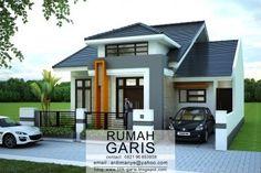 Desain lengkap rumah tinggal 2 lantai di lahan 10×15,6 meter