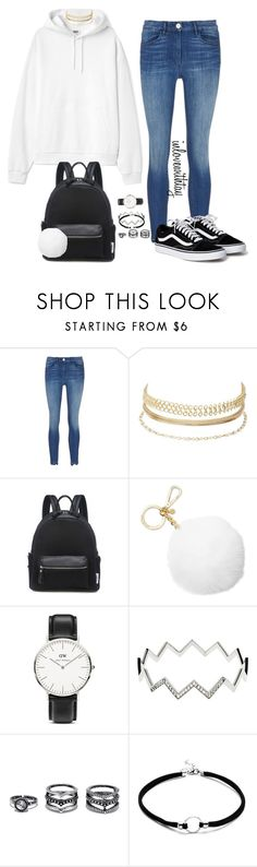 """34❤"" by inlovewithtay on Polyvore featuring mode, Charlotte Russe, Michael Kors, Daniel Wellington, Melissa Odabash, LULUS, school, Hoodies et vansoldskool"