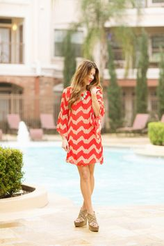 Easy to wear chevron style dress for size s,m,l,xl and free shipping